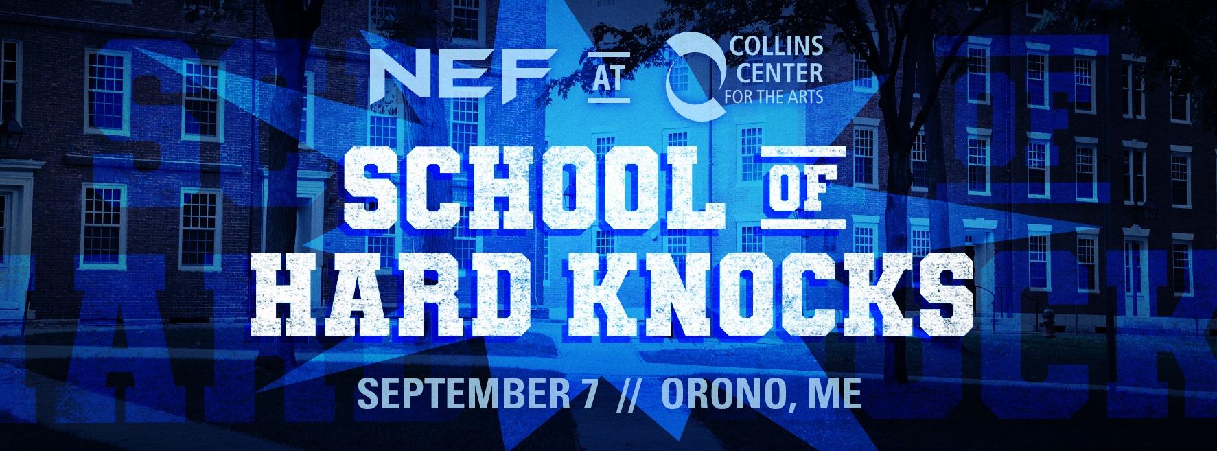 New England Fights - School of hard knocks