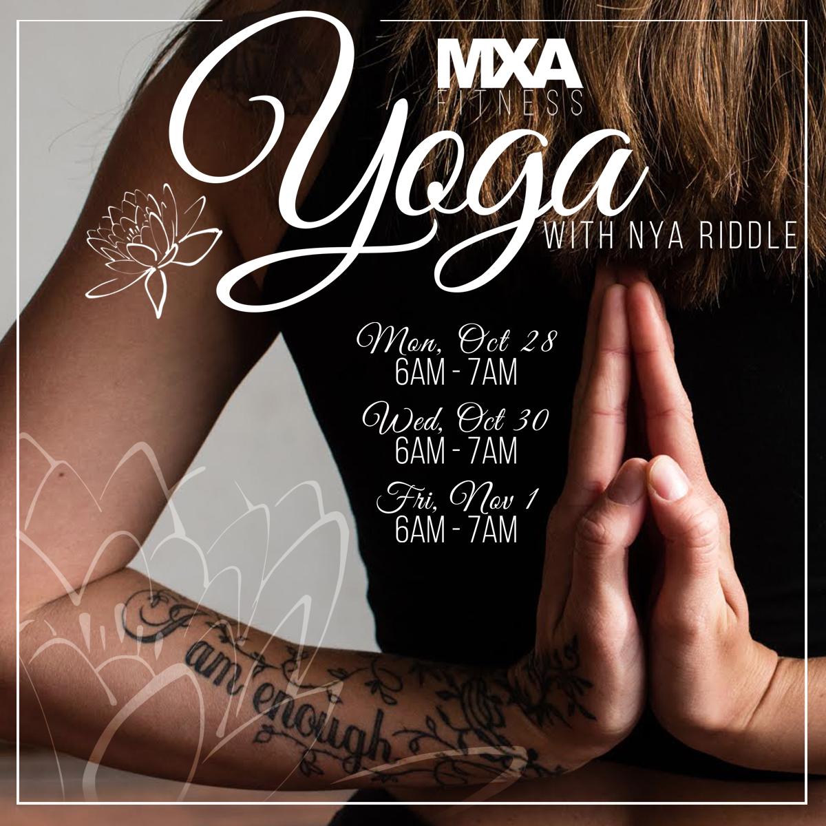 Yoga With Nya