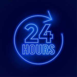 Now Open 24/7